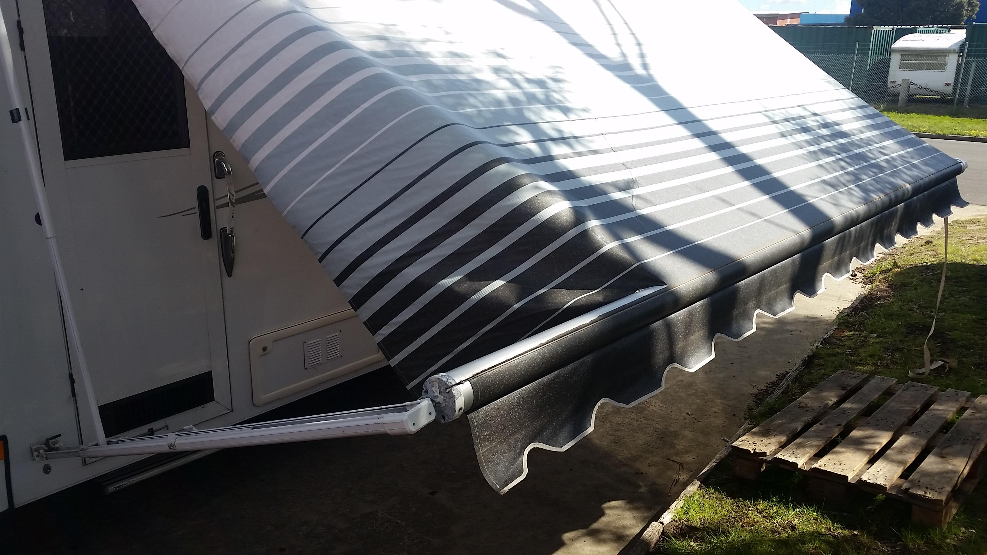 rollout awning repair peninsula caravan services